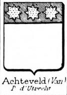 Achteveld Coat of Arms / Family Crest 0