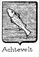 Achtevelt Coat of Arms / Family Crest 0