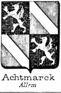Achtmarck Coat of Arms / Family Crest 0