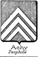 Achy Coat of Arms / Family Crest 1