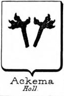 Ackema Coat of Arms / Family Crest 0