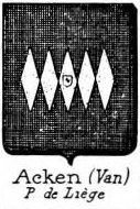 Acken Coat of Arms / Family Crest 2
