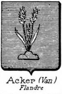 Acker Coat of Arms / Family Crest 1