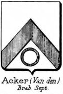 Acker Coat of Arms / Family Crest 2
