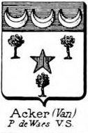 Acker Coat of Arms / Family Crest 0