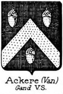 Ackere Coat of Arms / Family Crest 1