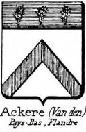 Ackere Coat of Arms / Family Crest 2