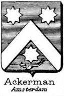 Ackerman Coat of Arms / Family Crest 0