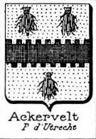 Ackervelt Coat of Arms / Family Crest 0