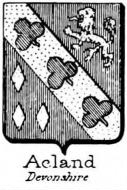 Acland Coat of Arms / Family Crest 1