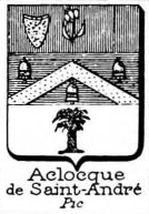 Aclocque Coat of Arms / Family Crest 1