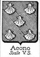 Acono Coat of Arms / Family Crest 1