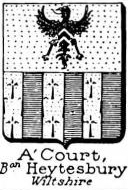 ACourt Coat of Arms / Family Crest 1