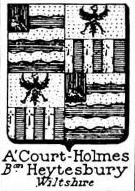 ACourt Coat of Arms / Family Crest 2