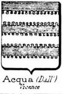 Acqua Coat of Arms / Family Crest 3