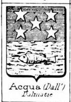 Acqua Coat of Arms / Family Crest 2
