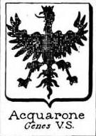 Acquarone Coat of Arms / Family Crest 2
