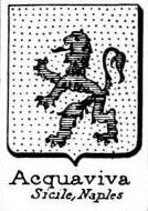 Acquaviva Coat of Arms / Family Crest 3