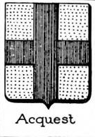 Acquest Coat of Arms / Family Crest 0