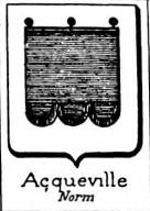 Acqueville Coat of Arms / Family Crest 0