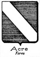 Acre Coat of Arms / Family Crest 0