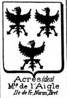 Acres Coat of Arms / Family Crest 1