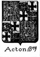 Acton Coat of Arms / Family Crest 3