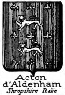 Acton Coat of Arms / Family Crest 6