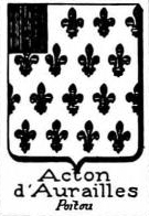 Acton Coat of Arms / Family Crest 7