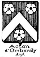 Acton Coat of Arms / Family Crest 10
