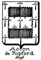 Acton Coat of Arms / Family Crest 11