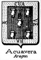 Acuavera Coat of Arms / Family Crest 0