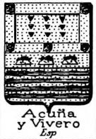 Acuna Coat of Arms / Family Crest 4