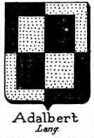 Adalbert Coat of Arms / Family Crest 0