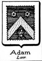 Adam Coat of Arms / Family Crest 6
