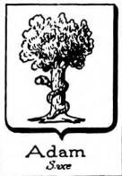 Adam Coat of Arms / Family Crest 7