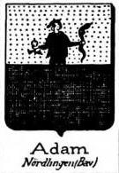 Adam Coat of Arms / Family Crest 8