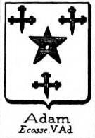 Adam Coat of Arms / Family Crest 10