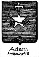Adam Coat of Arms / Family Crest 11