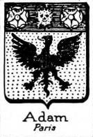 Adam Coat of Arms / Family Crest 4