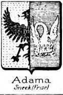 Adama Coat of Arms / Family Crest 1