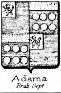 Adama Coat of Arms / Family Crest 2