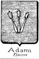 Adami Coat of Arms / Family Crest 6