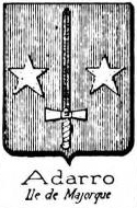 Adarro Coat of Arms / Family Crest 0