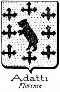Adatti Coat of Arms / Family Crest 0