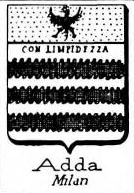 Adda Coat of Arms / Family Crest 4