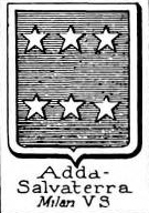 Adda Coat of Arms / Family Crest 6