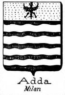Adda Coat of Arms / Family Crest 3
