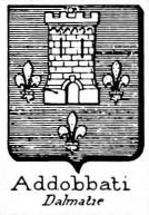 Addobbati Coat of Arms / Family Crest 0