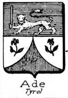 Ade Coat of Arms / Family Crest 1